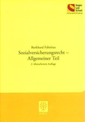 Sozialversicherungsrecht - Allgemeiner Teil