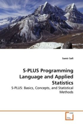 S-PLUS Programming Language and Applied Statistics
