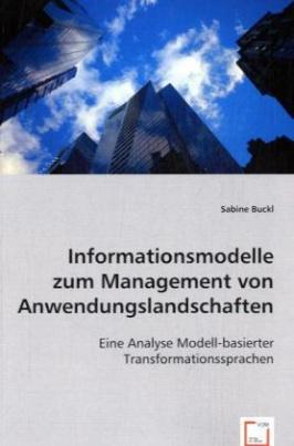 Informationsmodelle zum Management von Anwendungslandschaften