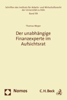 Der unabhängige Finanzexperte im Aufsichtsrat