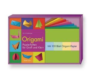Origami, m. Papierbogen