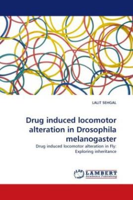 Drug induced locomotor alteration in Drosophila melanogaster
