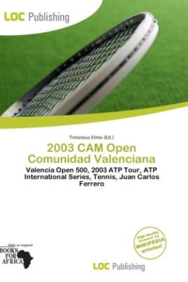 2003 CAM Open Comunidad Valenciana