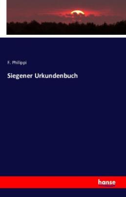 Siegener Urkundenbuch