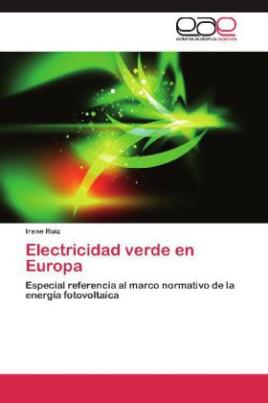 Electricidad verde en Europa
