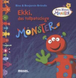 Meine kleinen Monster - Ekki, das tollpatschige Monster