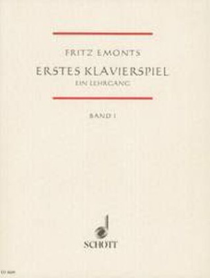 Erstes Klavierspiel. Bd.1