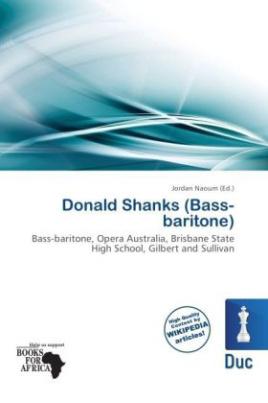 Donald Shanks (Bass-baritone)