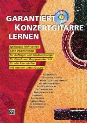 Garantiert Konzertgitarre lernen, m. Audio-CD. Bd.1
