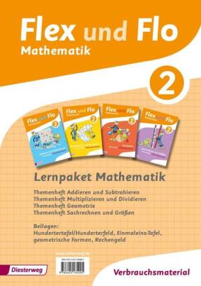 Lernpaket Mathematik 2: 4 Themenhefte (Verbrauchsmaterial)