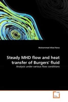 Steady MHD flow and heat transfer of Burgers' fluid