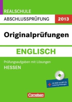 Originalprüfungen Englisch, m. CD-ROM