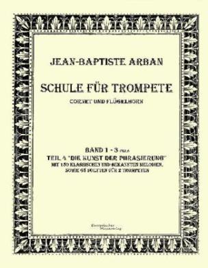 Schule für Trompete, Cornet und Flügelhorn. Bd.1-4