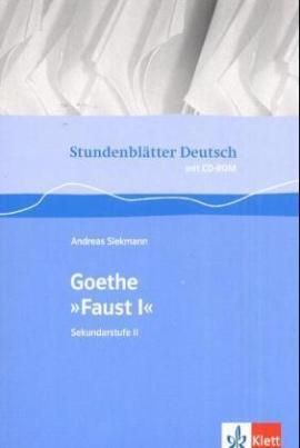 Goethe 'Faust I', m. CD-ROM
