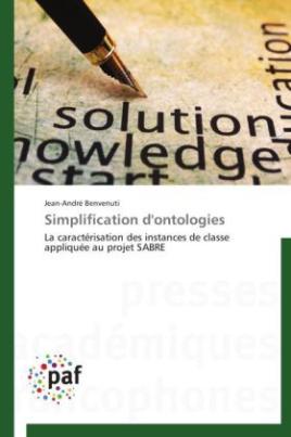 Simplification d'ontologies