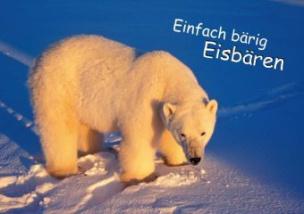 Einfach bärig: Eisbären (Posterbuch DIN A4 quer)