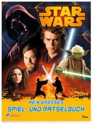 Star Wars - Mein großes Spiel- und Rätselbuch