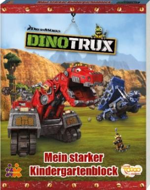 Dinotrux. Mein Kindergartenblock