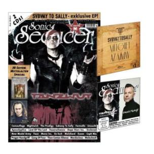 Sonic Seducer, Titelstory Tanzwut + Mittelalter-Special, m. 2 Audio-CDs
