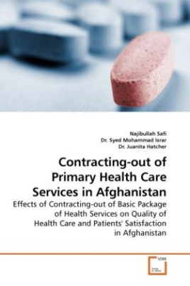 Contracting-out of Primary Health Care Services in Afghanistan