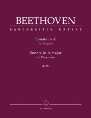 Sonate für Klavier A-Dur op. 101, Partitur