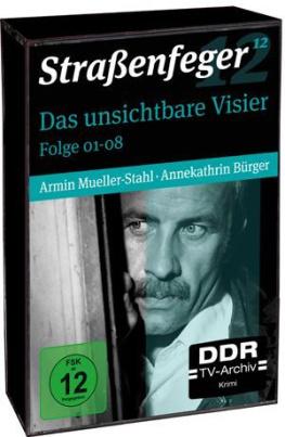 Straßenfeger - Das unsichtbare Visier Folge 01-08 (DDR TV-Archiv) (DVD)