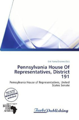 Pennsylvania House Of Representatives, District 191