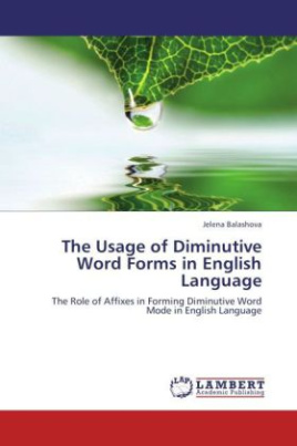 The Usage of Diminutive Word Forms in English Language