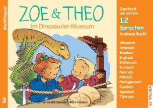 Zoe & Theo im Dinosaurier-Museum, Multilingual