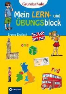 Mein Lern- und Übungsblock Erstes Englisch