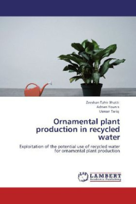 Ornamental plant production in recycled water