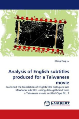 Analysis of English subtitles produced for a Taiwanese movie