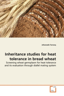 Inheritance studies for heat tolerance in bread wheat
