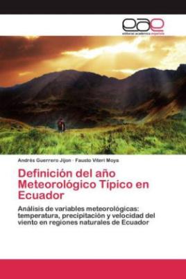 Definición del año Meteorológico Típico en Ecuador