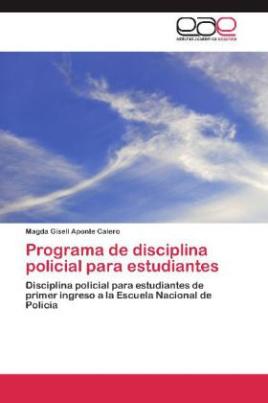 Programa de disciplina policial para estudiantes