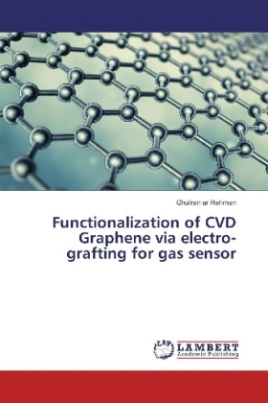 Functionalization of CVD Graphene via electro-grafting for gas sensor