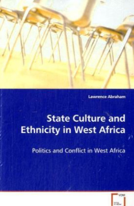 State Culture and Ethnicity in West Africa