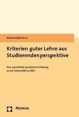 Kriterien guter Lehre aus Studierendenperspektive