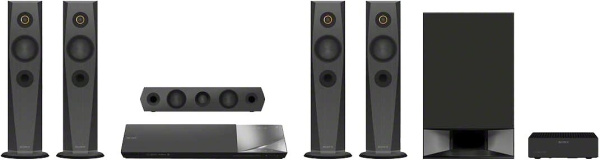 "SONY Soundsystem ""BDV-N7200W"" (Blu-ray-Player, 1.200 W, 3D-fähig, WLAN, NFC, Bluetooth)"