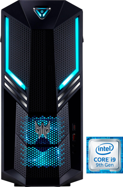 "ACER Gaming-PC ""Predator Orion 3000 PO3-600"" (i5-9400, RTX 2060, 8 GB RAM, 1 TB HDD, 256 GB SSD)"