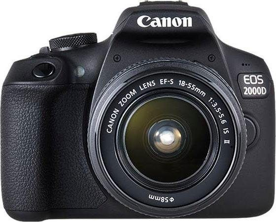 """CANON Spiegelreflexkamera """"EOS 2000D"""" (24 MP, 18-55 mm, WiFi)"""