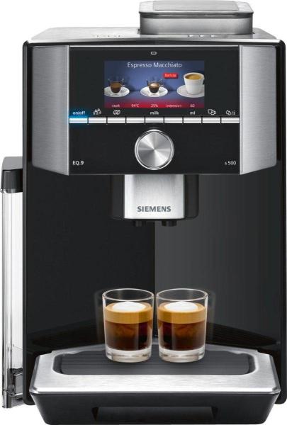 """SIEMENS Kaffeevollautomat """"EQ.9 s500 TI915539DE"""" (19 bar, Keramikmahlwerk)"""