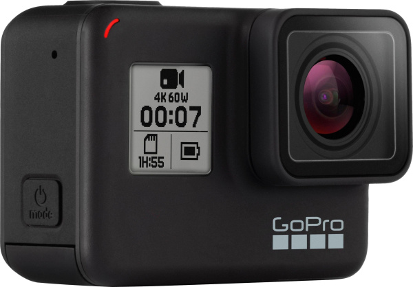 "GOPRO Action-Kamera ""HERO 7 black"" (12 MP, 4K Ultra HD, WLAN, Bluetooth, GPS)"