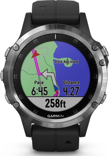 "GARMIN Smartwatch ""fenix 5 Plus"" (Bluetooth, wasserdicht, 47mm)"
