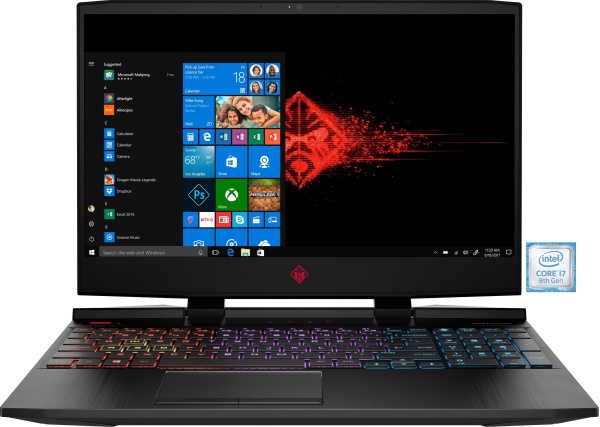 "OMEN by HP Gaming-Notebook ""15-dc1003ng"" (15,6 Zoll, i7-8750H, RTX 2070)"