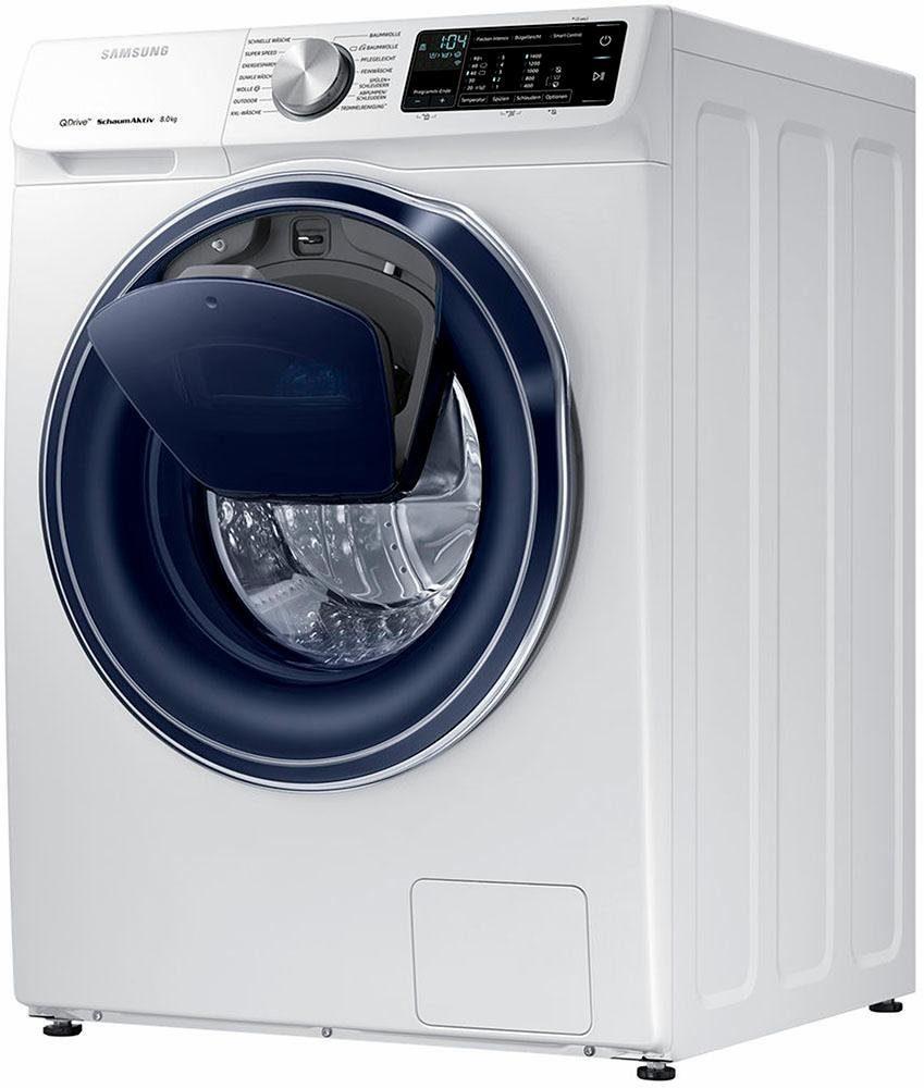 SAMSUNG Waschmaschine »QuickDrive WW8EM642OPW/EG« (A+++, 8 kg, 1400 ...