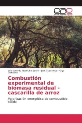 Combustión experimental de biomasa residual - cascarilla de arroz