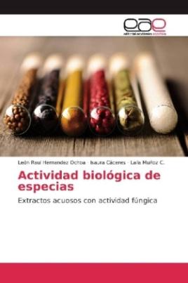 Actividad biológica de especias