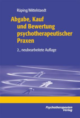 Abgabe, Kauf und Bewertung psychotherapeutischer Praxen