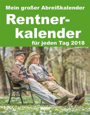 Rentner - Abreißkalender 2018